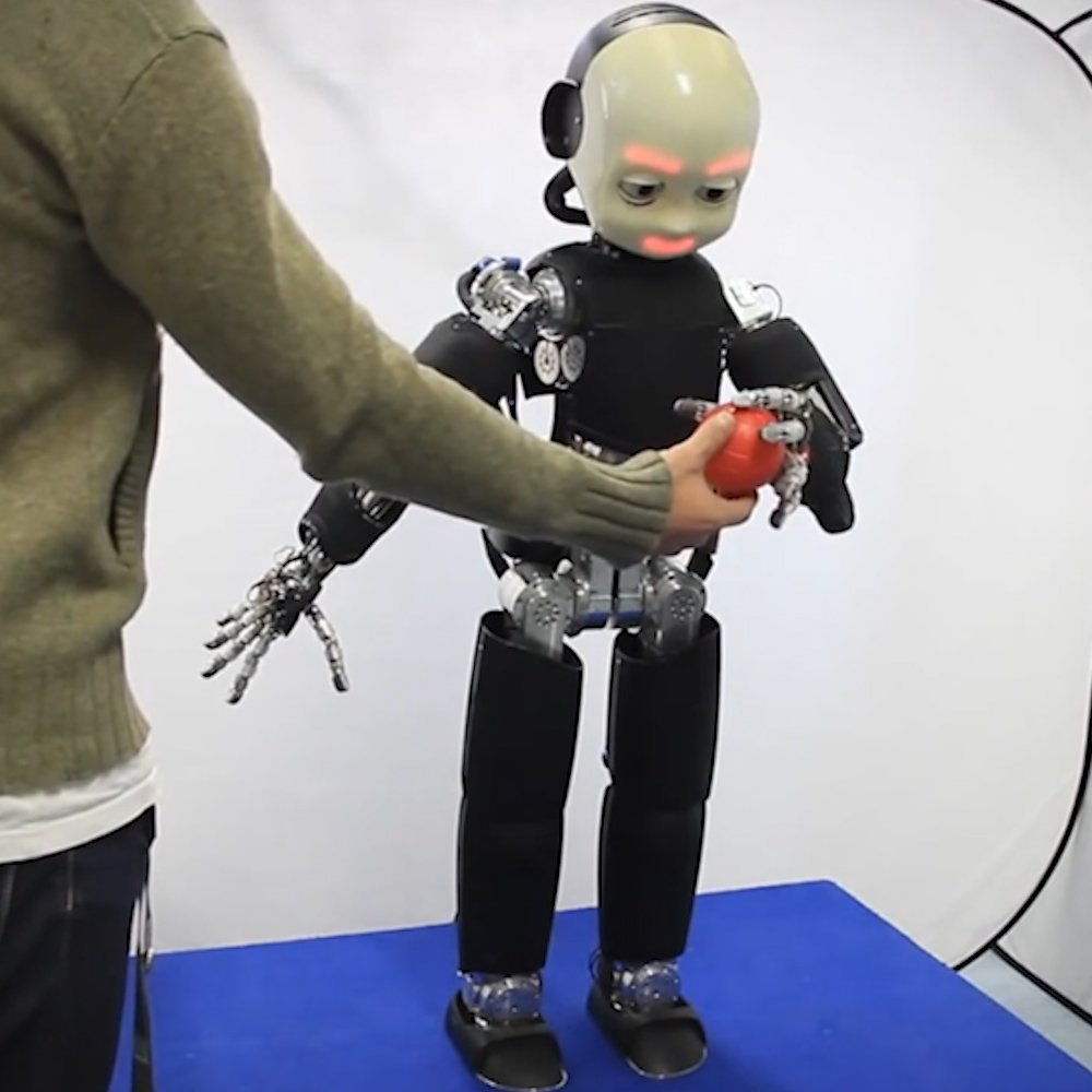 This intelligent robot learns by interacting with researchers