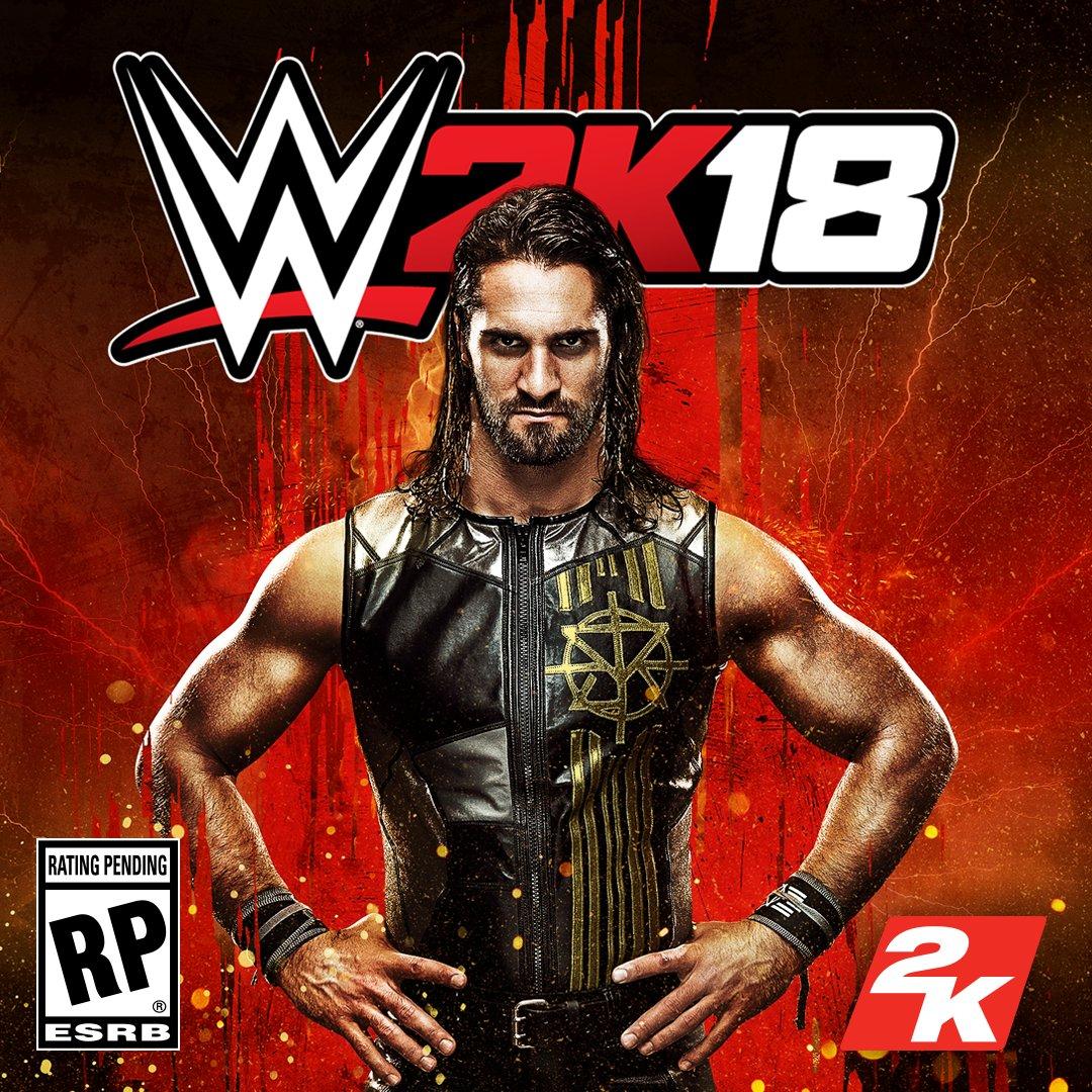 .@WWERollins is the #WWE2K18 cover Superstar! #BeLikeNoOne Pre-order n...