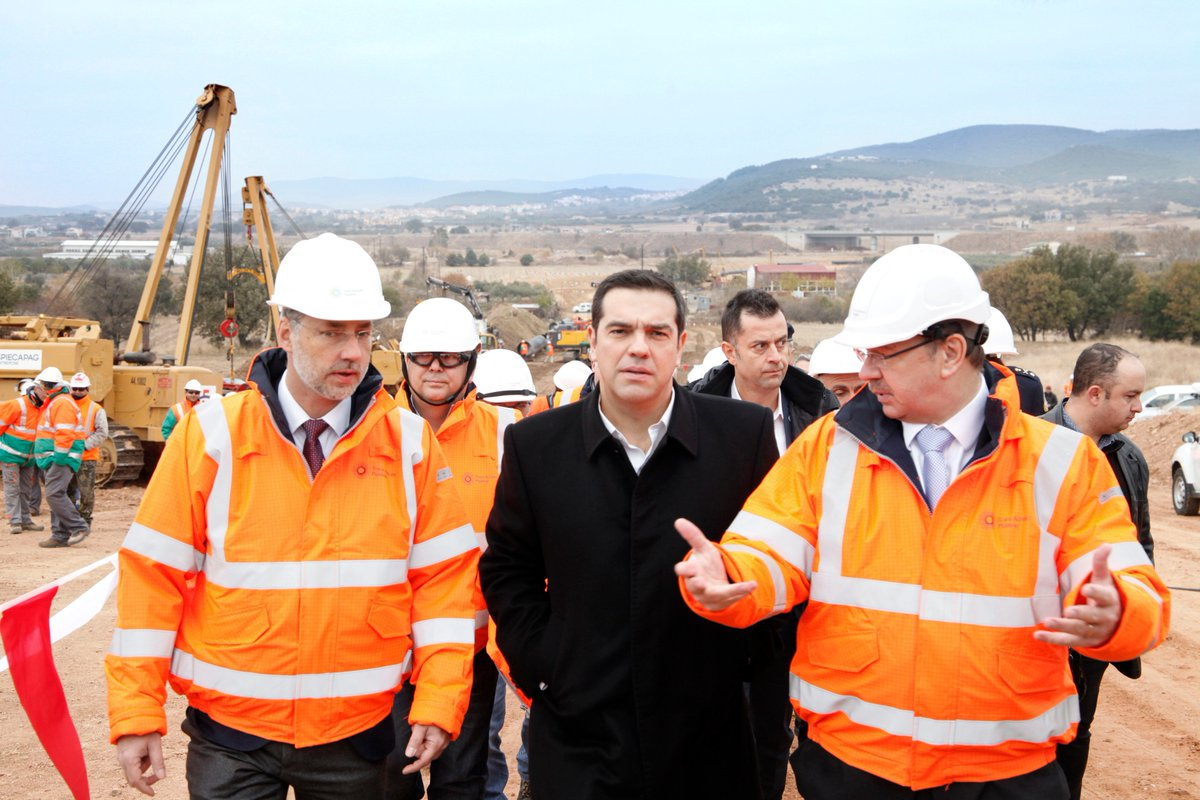 #Construction of TAP #pipeline continues at an accelerated pace notes @PrimeministerGR @energypress_gr  http:// bit.ly/2ssbRLc  &nbsp;   #EnergyUnion<br>http://pic.twitter.com/4QUJldPNxu