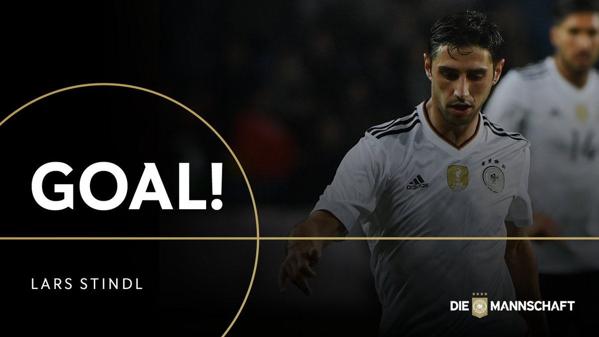 GOOOAAALLL!!! ⚽️ What a start for #DieMannschaft as @stindl28 fires ho...