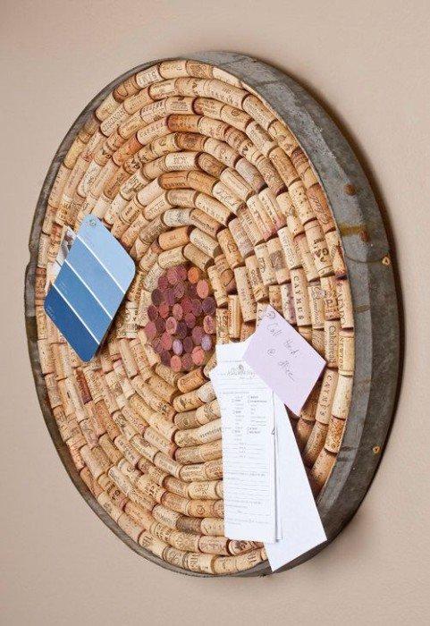 DIY #Cork Board with Wine Barrel Ring Border -  http:// diy.viralcreek.com/diy-cork-board -wine-barrel-ring-border/ &nbsp; …  #CorkBoard #WineCork<br>http://pic.twitter.com/QEQoskHtvo