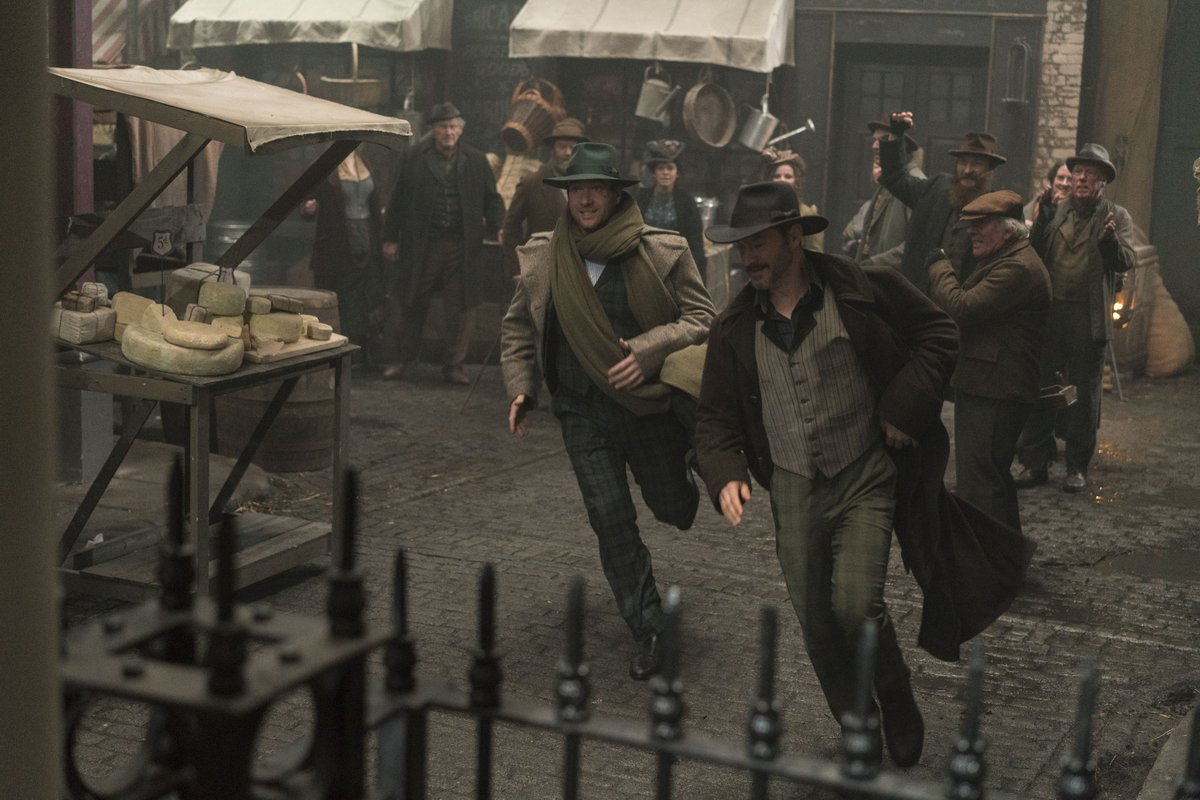 Dashing home to catch the start of #RipperStreet 5. On @BBCTwo at 9pm...