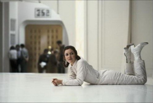 the floor is love and respect for carrie fisher https://t.co/2J1ERLShL...