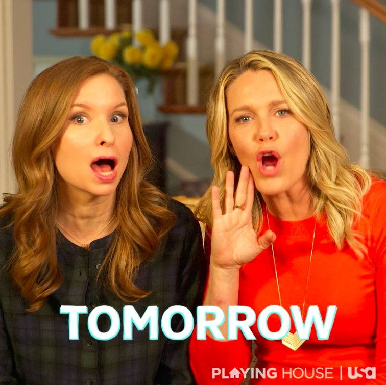Did you hear? #PlayingHouseUSA comes back TOMORROW, Jammers! https://t...