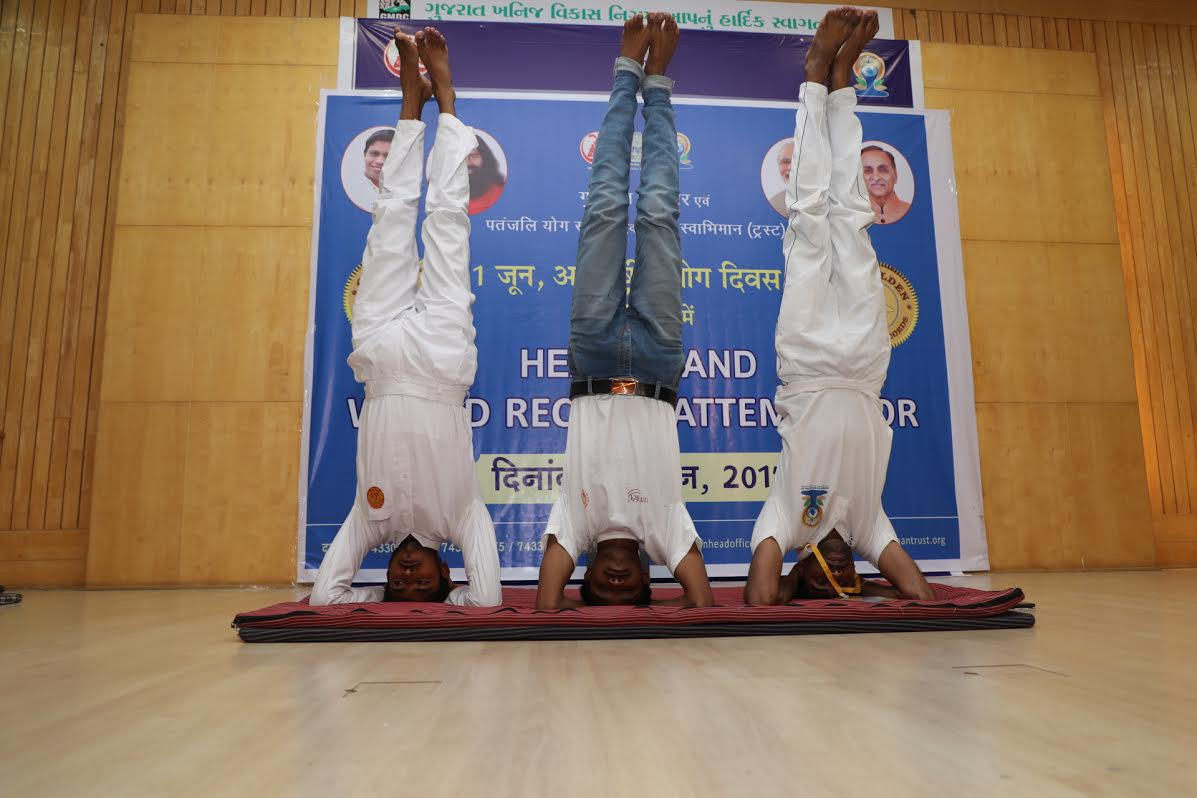 Three world records created in Gujarat ahead of  Yoga Day
