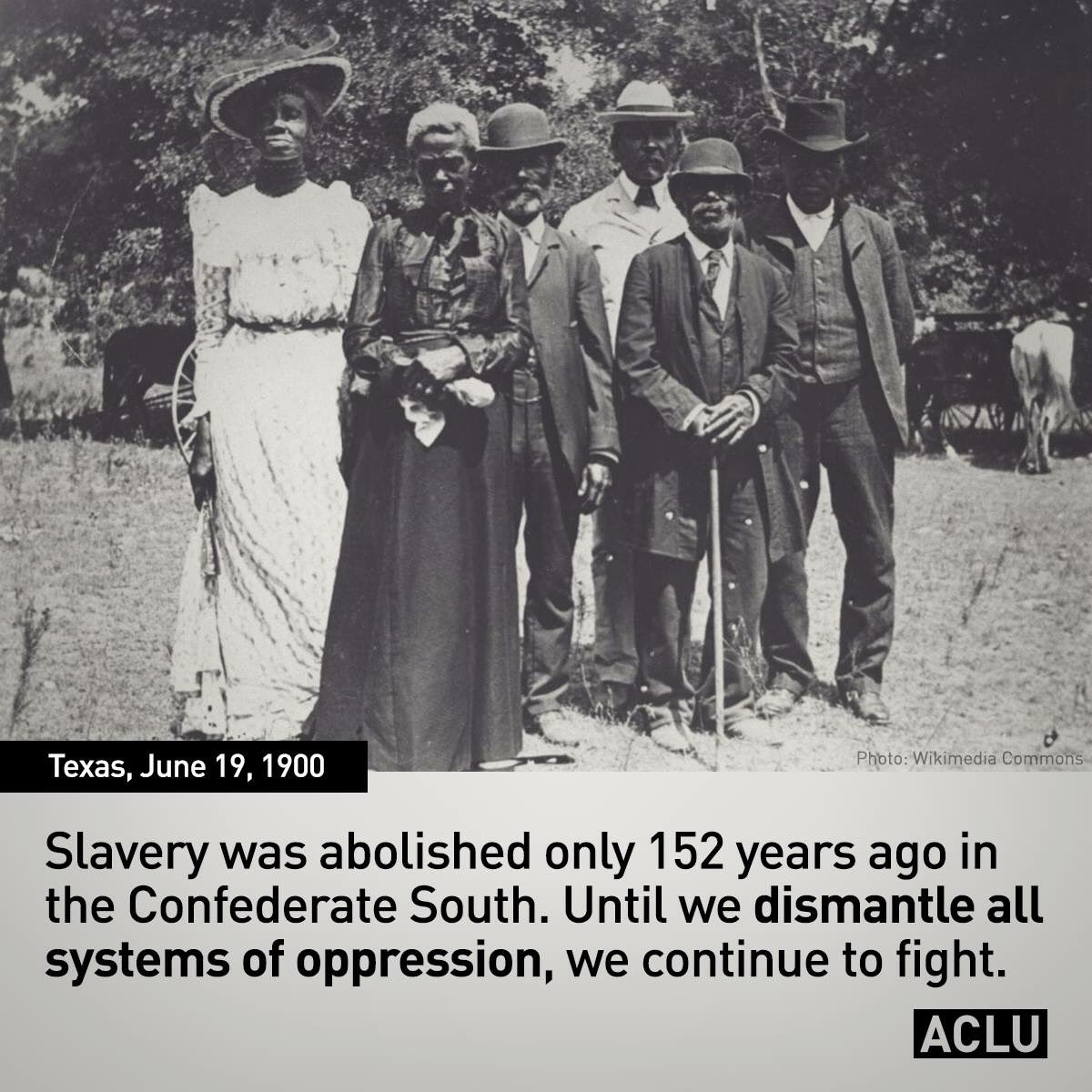 We're celebrating #Juneteenth by continuing the fight for freedom for all