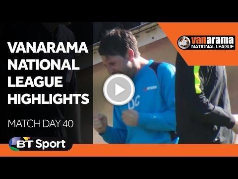 Vanarama National League Highlights Show - Matchday 40  http:// vid.staged.com/3tqu  &nbsp;   #Arsenal #SportStar <br>http://pic.twitter.com/5hZc0epeZ5