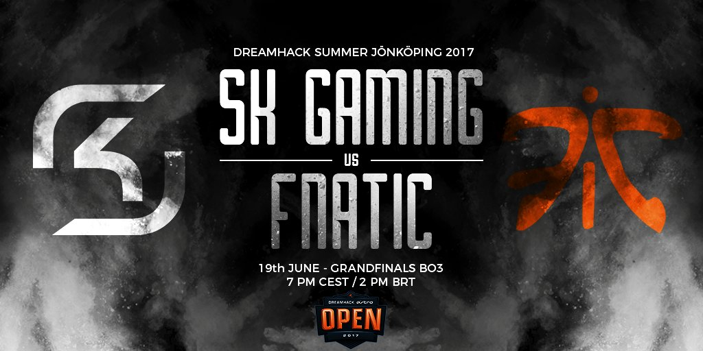 GRANDFINALS! Time to beat @FNATIC on their home turf!  #RUNSKG #VAMOSS...