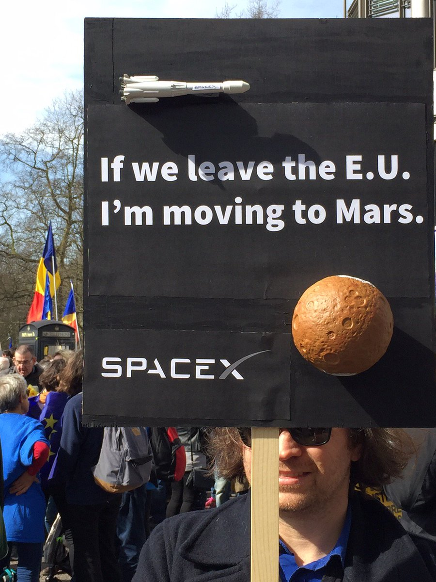 #brexit #brexittalks #BrexitNegotiations #Remain #RemainINEU #SpaceX #ElonMusk https://t.co/NwRTsBMXc5
