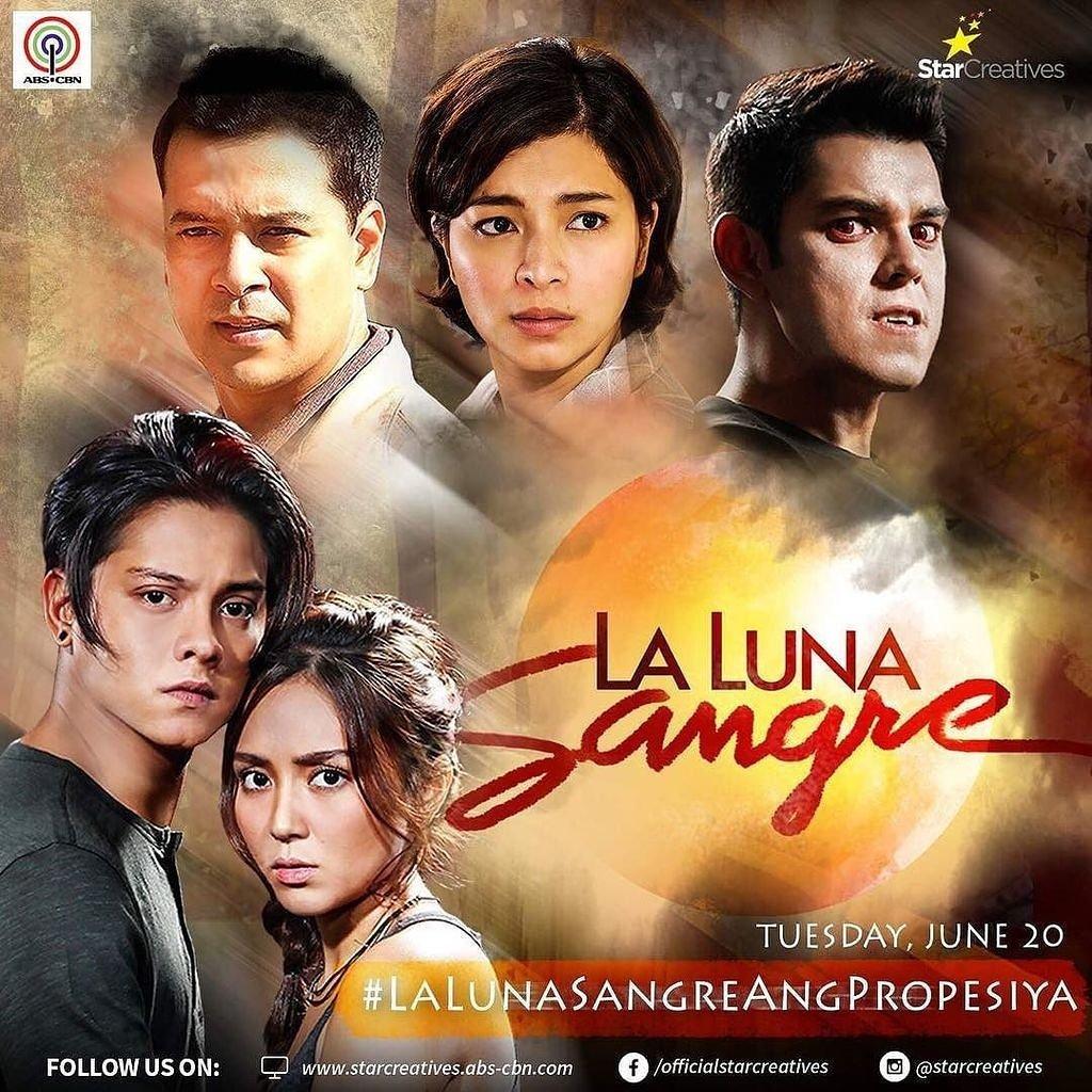 Our hashtag for today\'s episode: #LaLunaSangreAngPropesiya ©