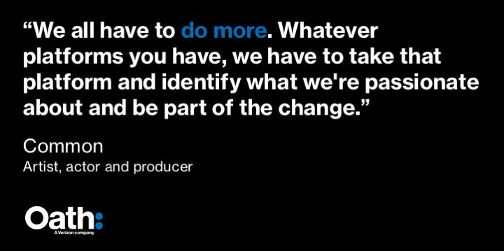.@Common says how we can make an impact at @MAKERSwomen #CannesLions p...