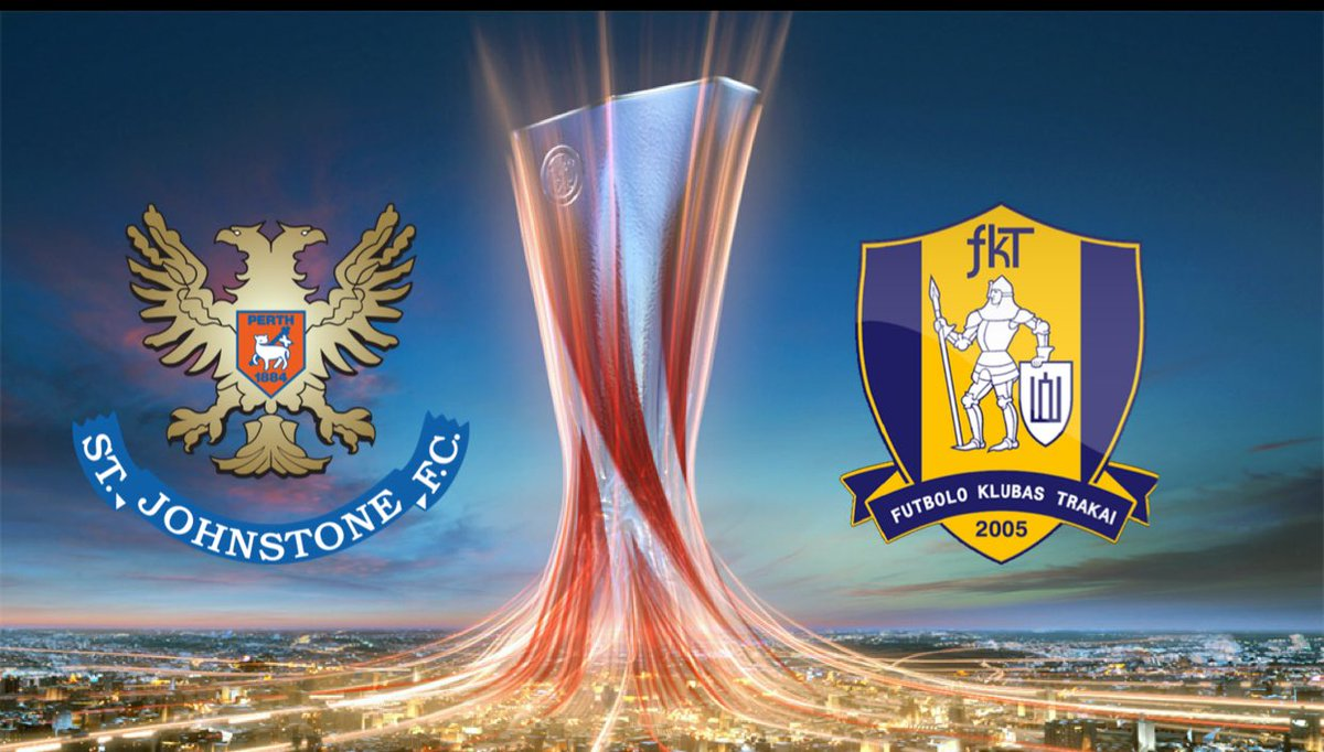 St. Johnstone have been drawn to play @FKTrakai (Lithuania) in the first round of the #EuropaLeague qualifiers. #SJFC<br>http://pic.twitter.com/zGQmri5S52