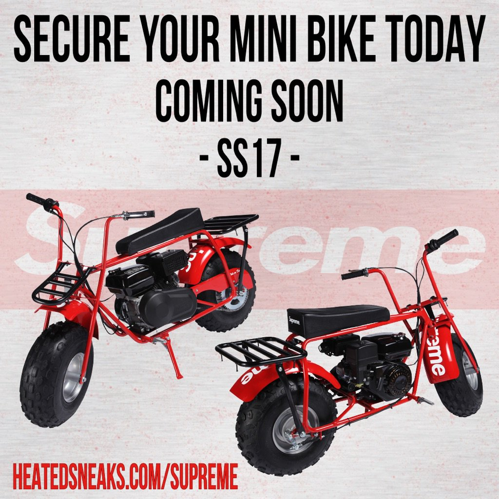 Supreme Mini Bike Price