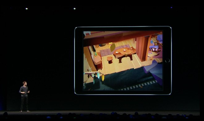 Apple's 120Hz ProMotion iPad Pro display hints at even better AR and VR support in future devices