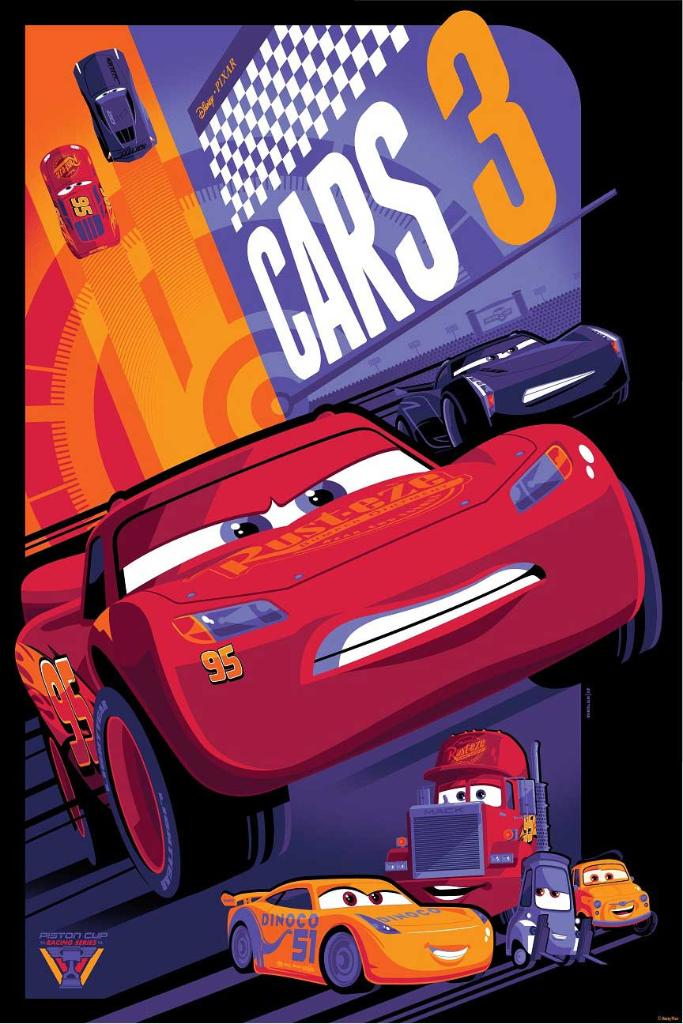 This #Cars3 Art from @CyclopsPrints Will Get Your Heart Racing: https:...