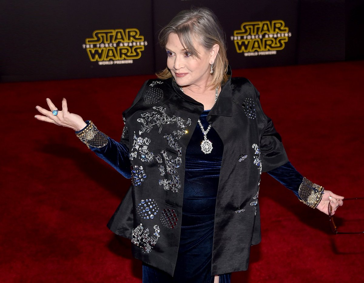 Carrie Fisher's full autopsy revealed cocaine, morphine, codeine and o...