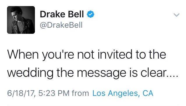Osha On Twitter Omg Josh Not Inviting Drake To His Wedding Might