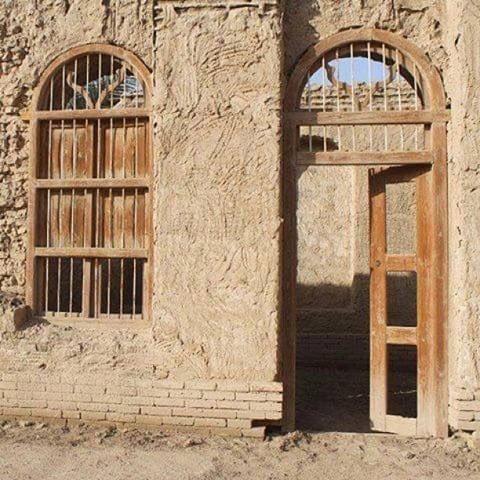 بيت أسرة بدر شاكر السياب قبل ترميمه