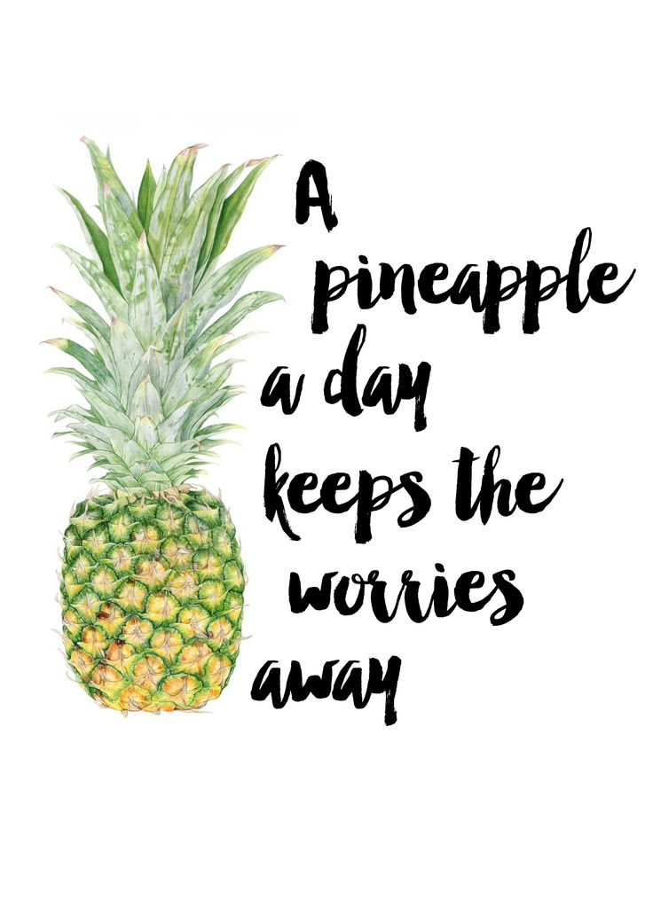 SoCIAL LITE Vodka On Twitter A Pineapple Day Keeps The Worries Away MotivationMonday