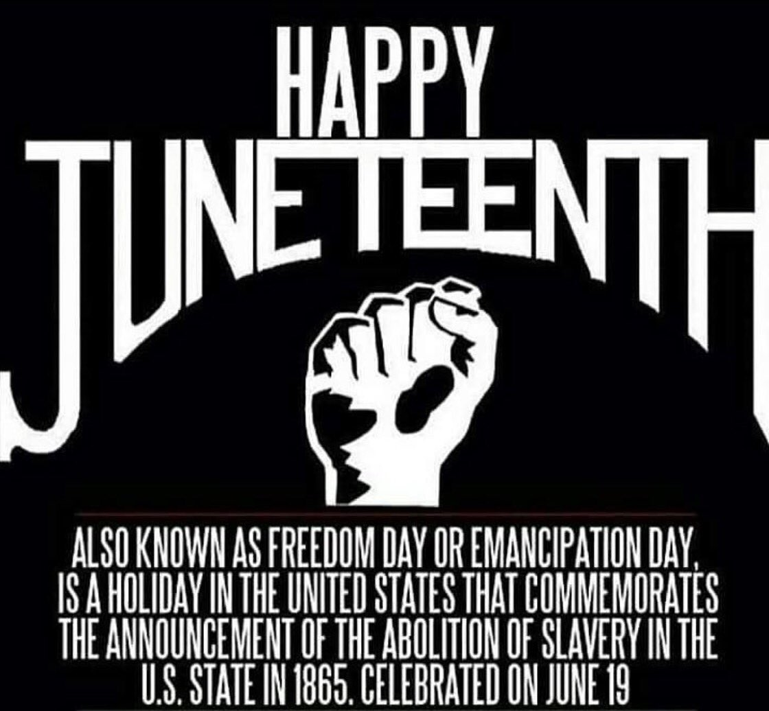 In celebration of Juneteenth  #FreedomAintFree <br>http://pic.twitter.com/3HRE5qzuLg