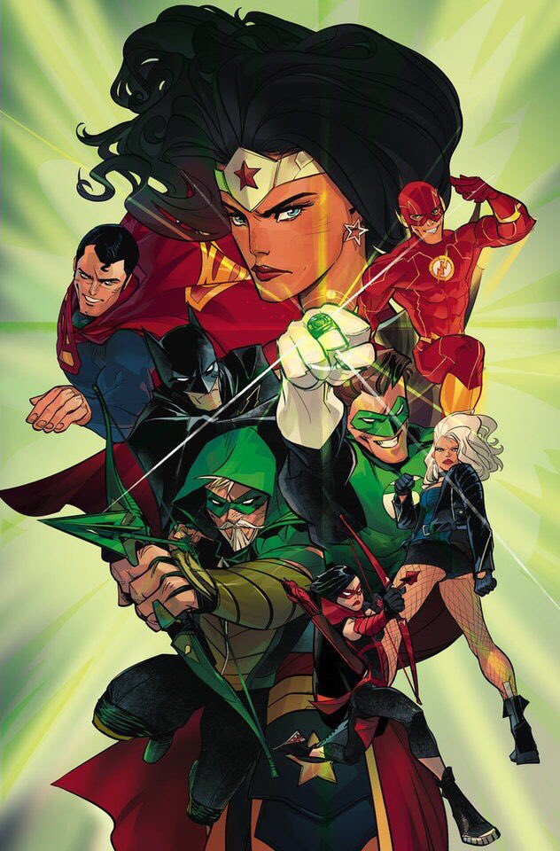 Cover for Green Arrow #31, with art by Otto Schmidt. And the nerds rejoiced. #DCRebirth https://t.co/Ws1KvuaFTj