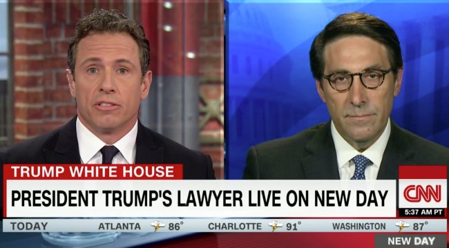 'You know it exists': CNN's Chris Cuomo battles Trump attorney over claim the president is not under investigation https://t.co/pkNoceRMAk