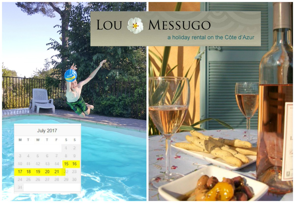 1 Week left this summer at Lou Messugo grab a bargain now! 15-22 July up to 11 people get in touch for more info #bookholsdirect #France <br>http://pic.twitter.com/bXFXFF55eh