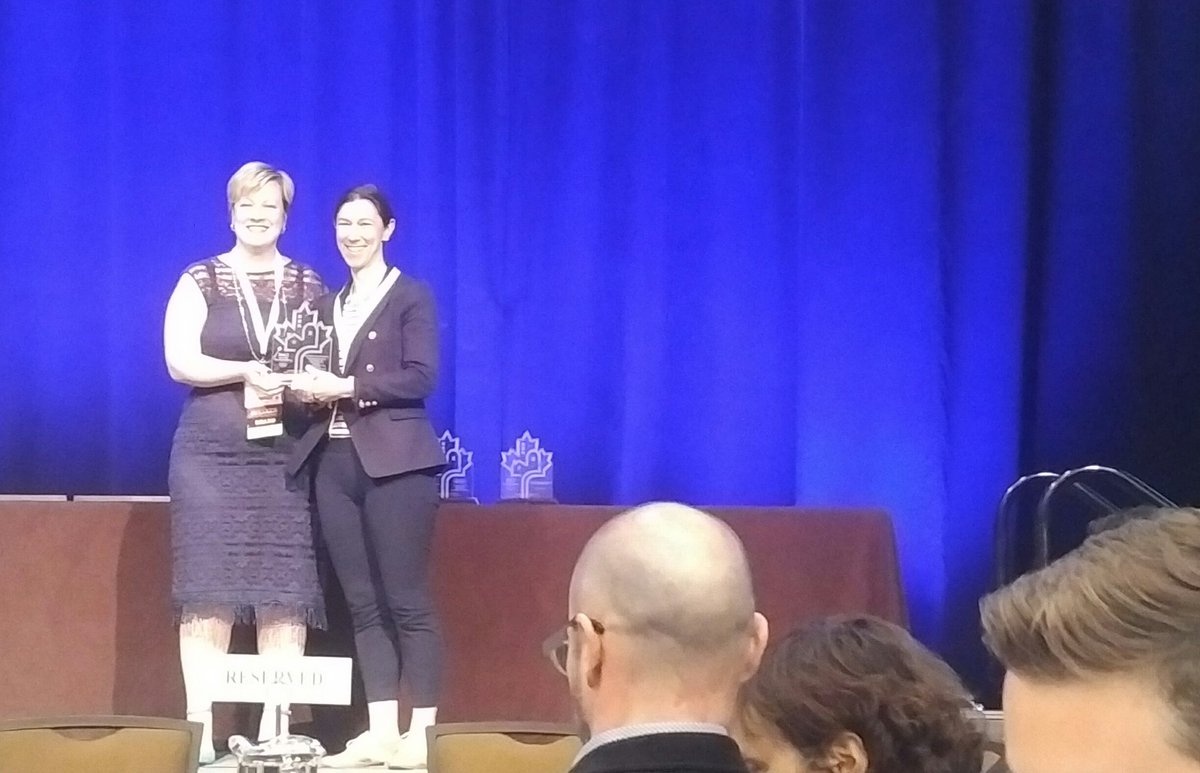 Britannia Farms honoured with Award of Excellence today at @CIP_ICU #R...