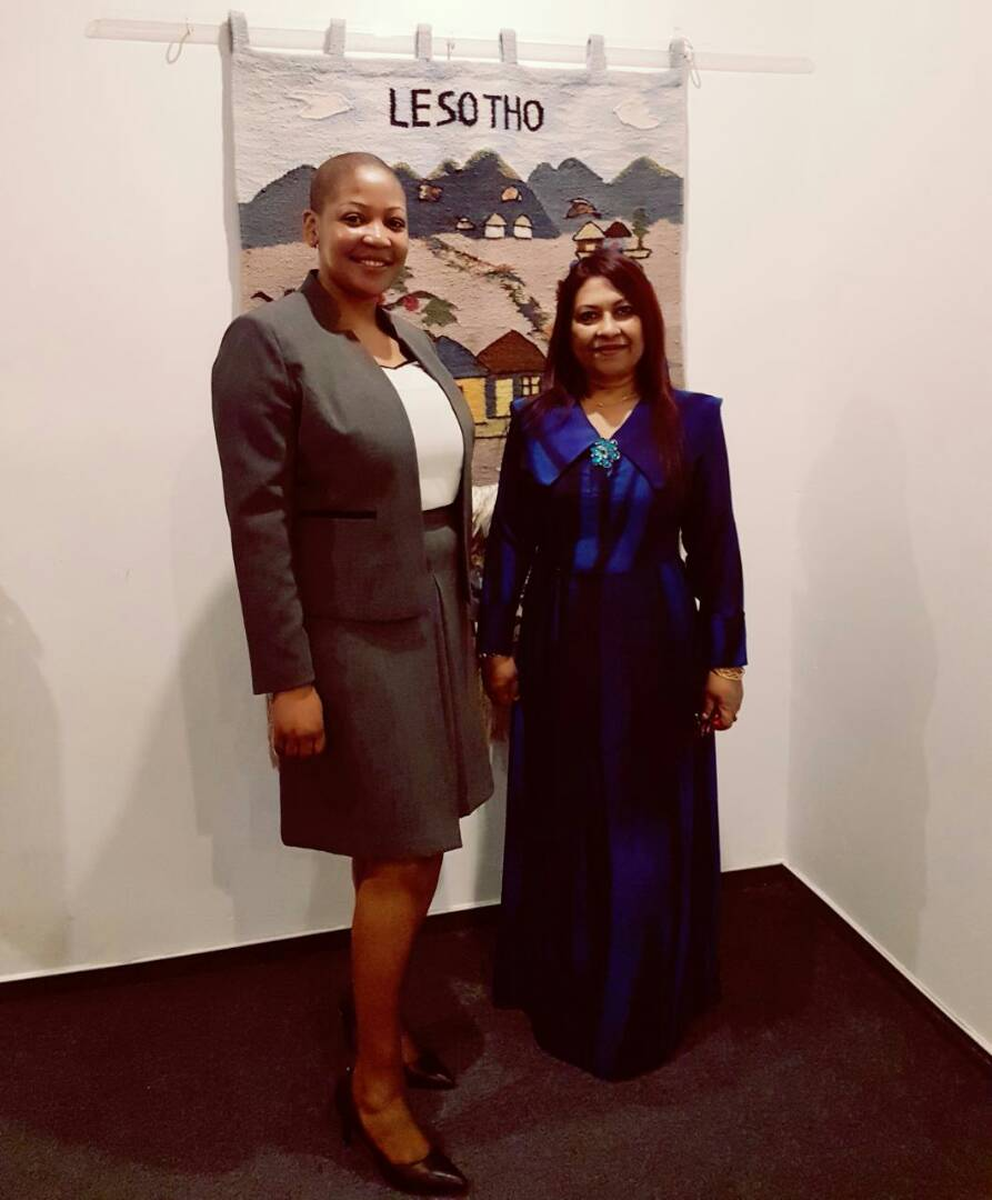 Ambassador Jameela met CDA of Lesotho Embassy to discuss bilateral ties and #Maldives multilateral engagements with #lesotho. <br>http://pic.twitter.com/4VcTLHZO75