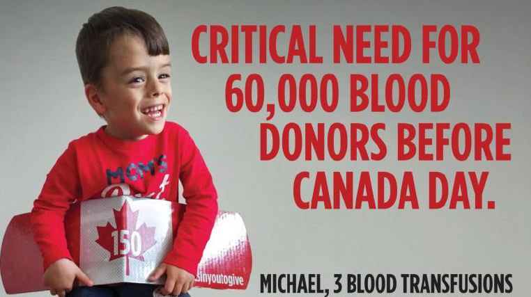 Canadian Blood Services needs your help. Donations needed ahead of the...
