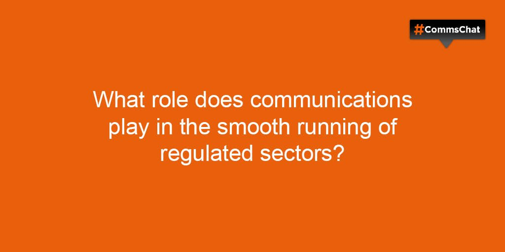 Thumbnail for #CommsChat on communicating in highly regulated sectors