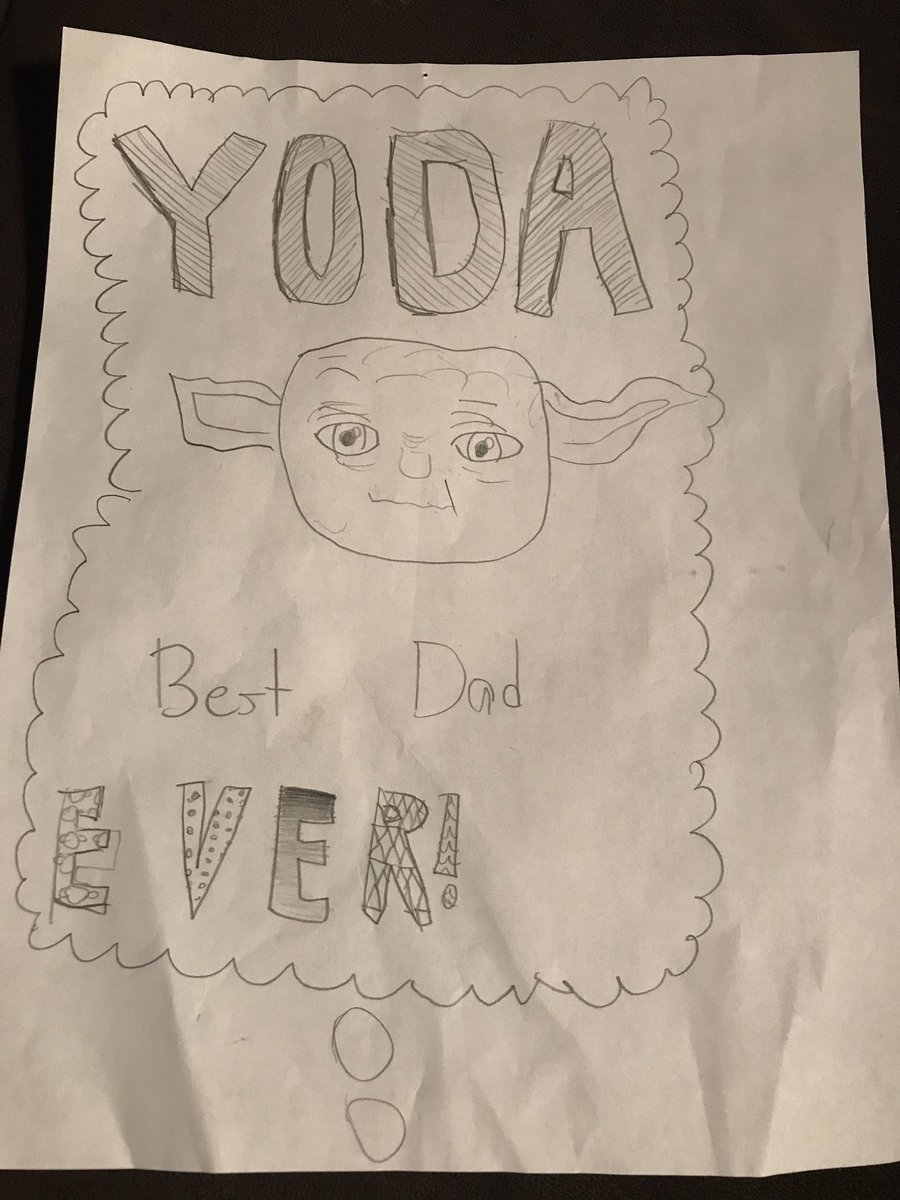 My kids get me.   #FathersDay.   #StarWars.   #Awesomeness. https://t....