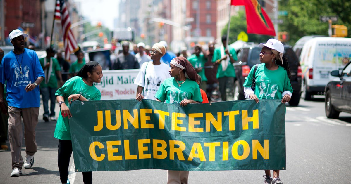 Trump sent his 'warmest greetings' on Juneteenth, to commemorate historic Emancipation Day https://t.co/pGdAAwtsl5