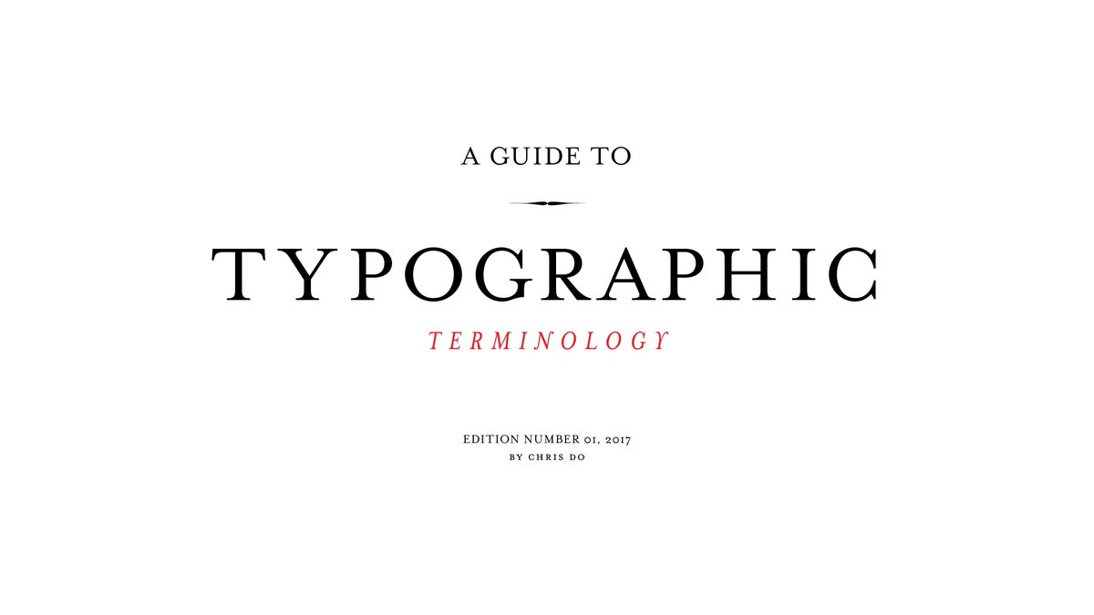 Happy Monday. Kick off the week by seeing how many of these typographic terms you know. #typography #terms #graphic   https:// youtu.be/WzVl_ATHUQ0  &nbsp;  <br>http://pic.twitter.com/1Bz1SIZE0c