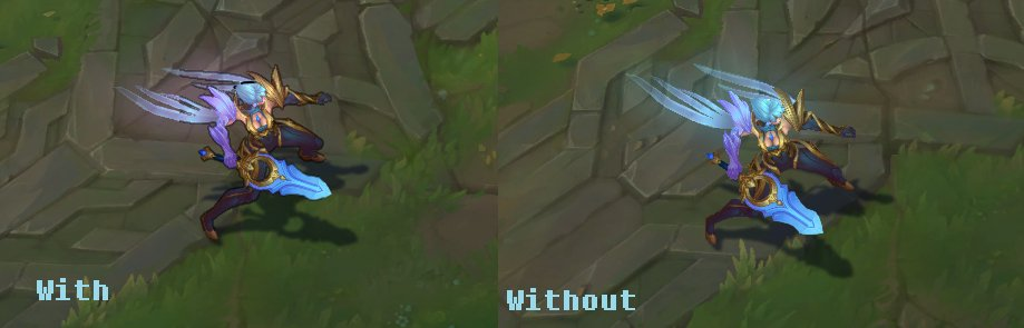 Why Is Riot Slowly Removing Character Inking Leagueoflegends