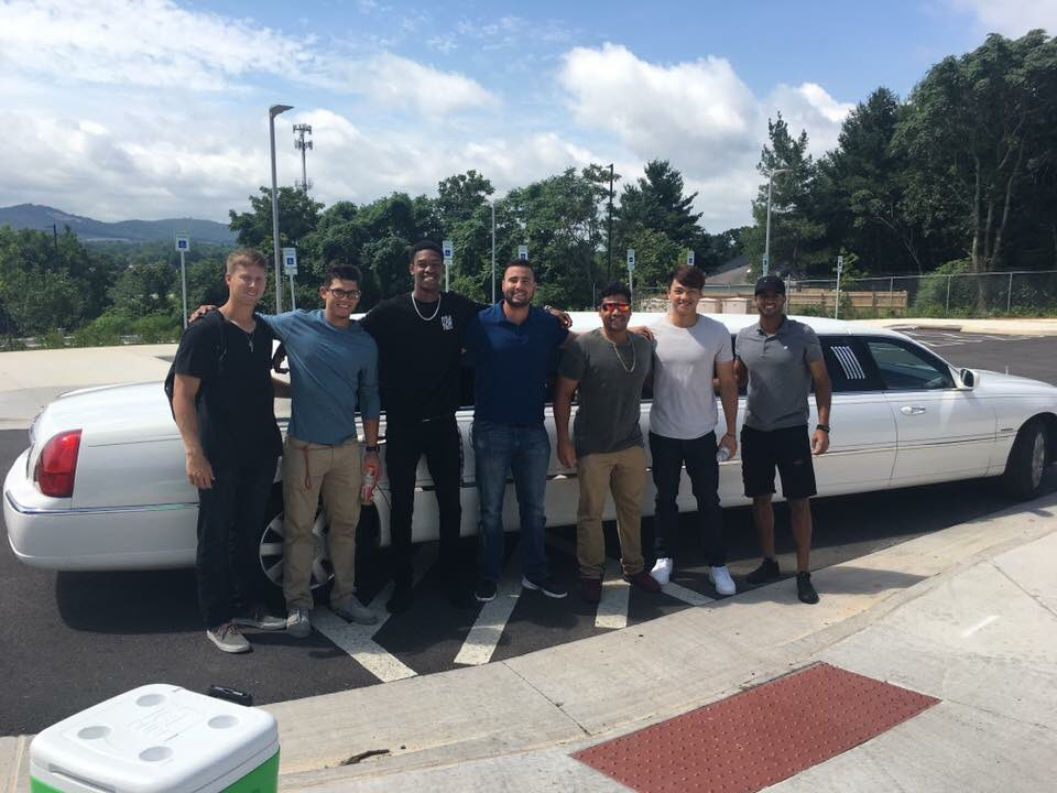 .@LynHillcats going to the Carolina League all-star festivities in style... #MiLB #Indians #Hillcats