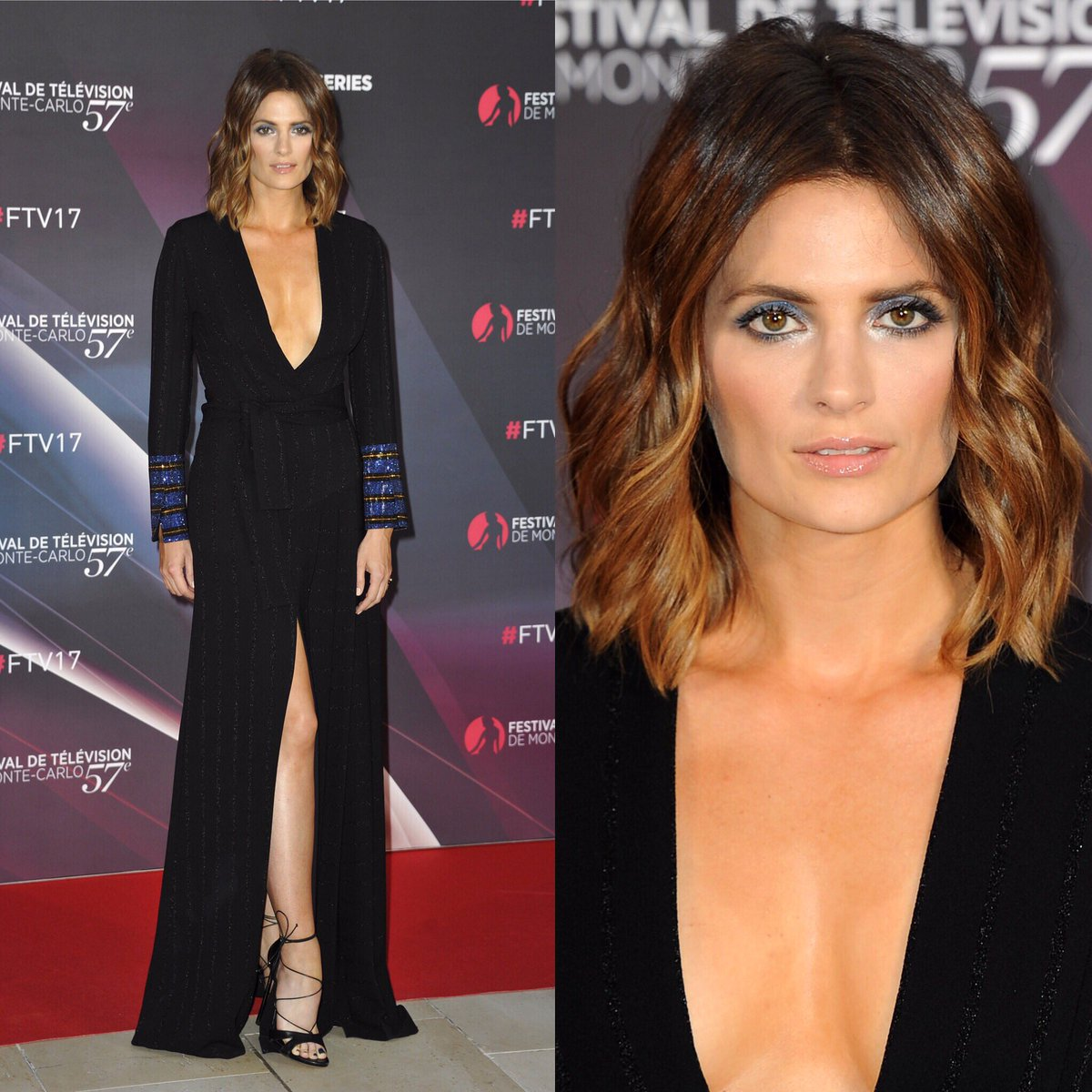 This @marcodevincenzo gown was perfect for @Stana_Katic. Classy, elegant, and sexy, yet bold and fearless, just like her!  #Absentia <br>http://pic.twitter.com/60u8x0UzwN