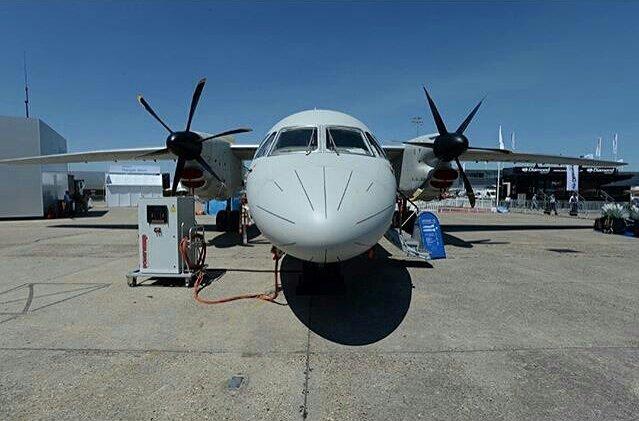 تدشين أول نموذج لطائرة انتونوف 132 صناعة سعودية اوكرانية مشتركة - صفحة 2 DCtXf27XcAQL3hl
