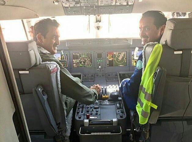 تدشين أول نموذج لطائرة انتونوف 132 صناعة سعودية اوكرانية مشتركة - صفحة 2 DCtXfAGXoAAhpw2