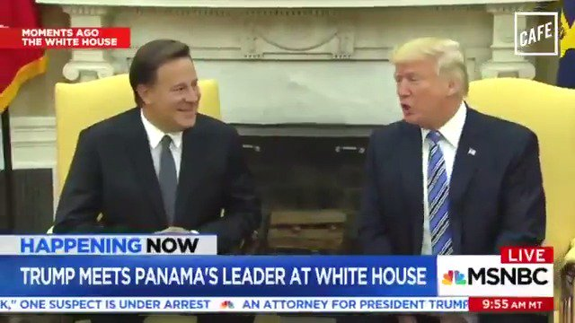 Oh, THAT explains why Trump was talking about the Panama Canal today. (@BriHaynie for CAFE)