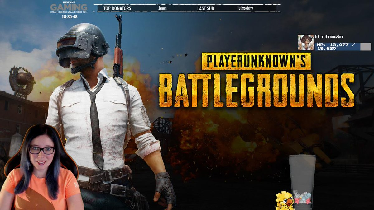 http:// twitch.tv/ardashe  &nbsp;    PLAYERUNKNOWN&#39;S BATTLEGROUNDS #streamer #twitch #directo #PLAYERUNKNOWNSBATTLEGROUNDS #pubg #ardashe<br>http://pic.twitter.com/DNKK5k28hm