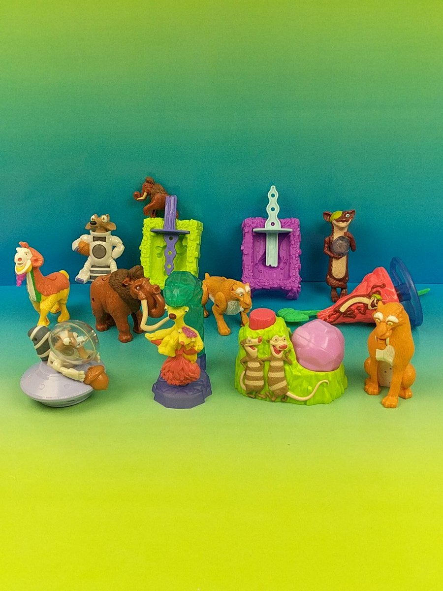Fastfoodtoyreviews On Twitter Mcdonald S Ice Age 5 Collision