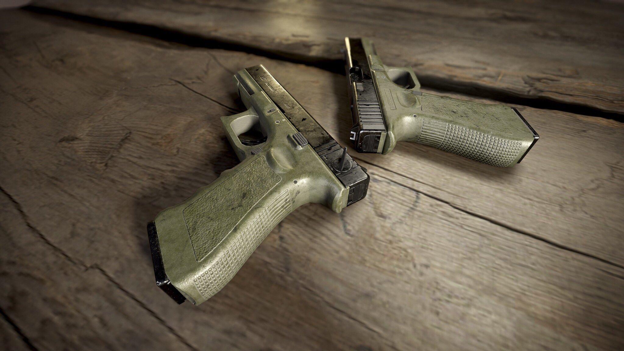 Glock P18C