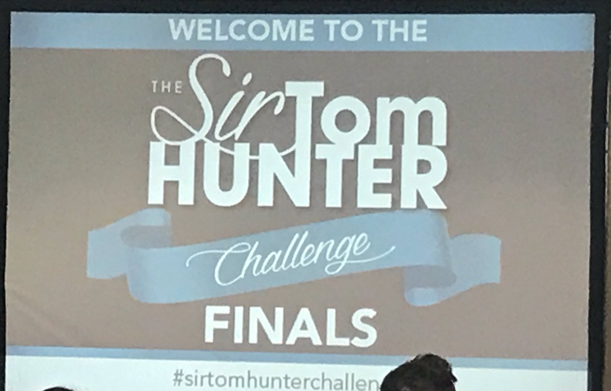 #sirtomhunterchallenge second place goes to @StMatthewsAc @NAC_EYE. Fa...
