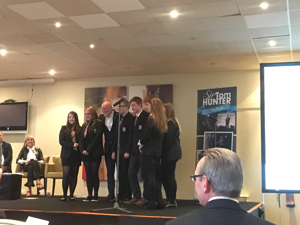 1st Place- @LoudounAcademy1. Well done, amazing! #sirtomhunterchalleng...