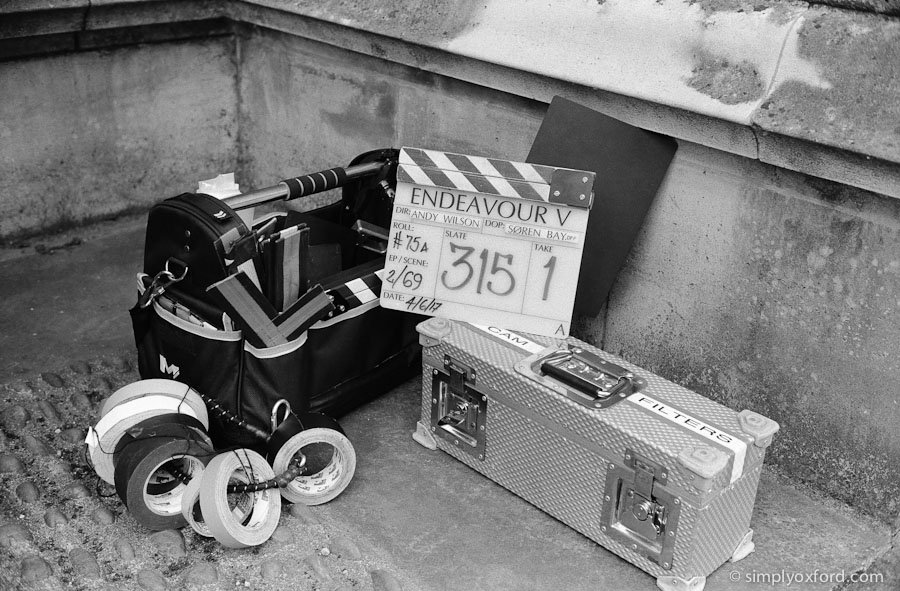New blog post: #Endeavour 5 episode 2. Spoiler free behind the scenes pictures from Oxford @ILFORDPhoto FP4 #film    http://www. simplyoxford.com/?p=3540  &nbsp;  <br>http://pic.twitter.com/9LQQOPeAGZ