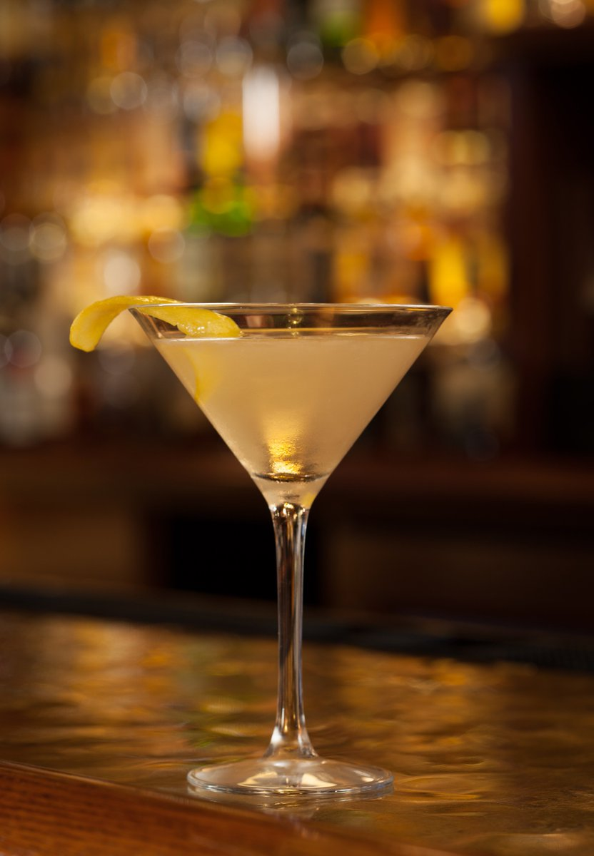 The Vesper Martini, made famous by James Bond in Casino Royale, at #Th...