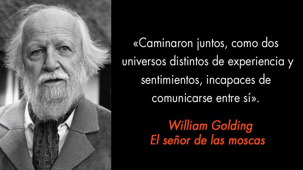 Megustaleer On Twitter Sir William Gerald Golding 1909