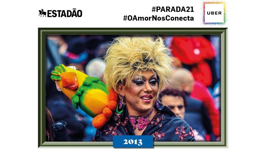 @hibikimon Olá! Você está celebrando a #paradasp com a gente! Para ver mais fotos históricas tuíte #parada21 :)
