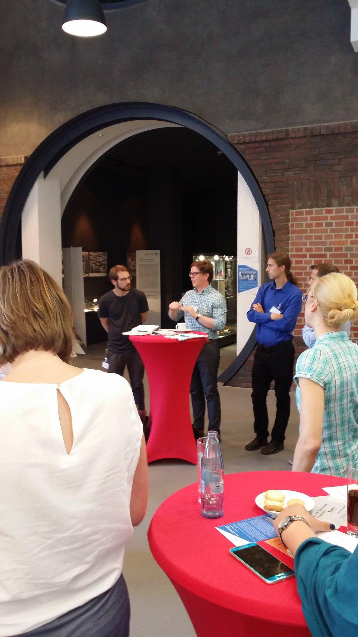 Auch die @KoerberBildung -Stiftung ist da beim #archivcamp ,  ebenso übrigens das @itsarolsen mit @NilSonJaDe https://t.co/ykF1BHtNCE